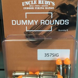Uncle Rudy's Dummy Rounds
