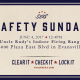 Safety Sunday is June 4th!