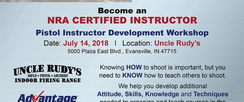 Thinking about becoming an NRA Instructor?
